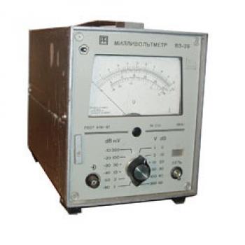 В3-39 Милливольтметр аналоговый