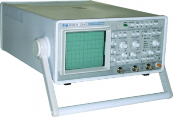 С8-43 Осциллограф запоминающий цифровой двухканальный