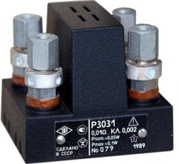 Р3031/2 Мера электрического сопротивления однозначная