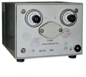 Р4077 Магазин сопротивления измерительный холодостойкий