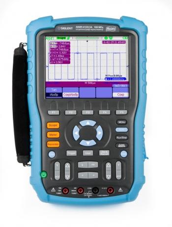 АКИП-4125/1А (60 МГц) осциллограф-мультиметр