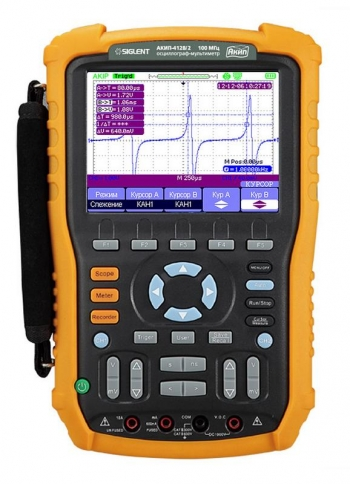 АКИП-4128/1 (60 МГц) осциллограф-мультиметр