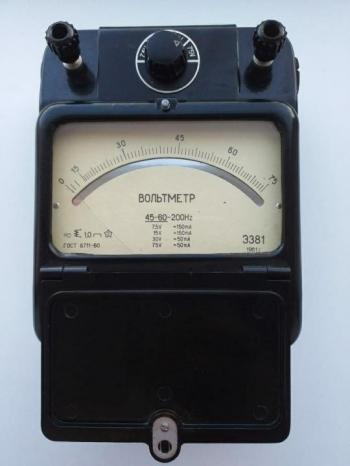 Э381 Амперметр