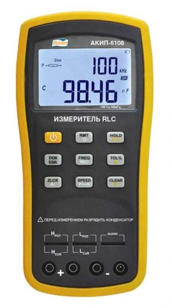 АКИП-6108 измеритель RLC