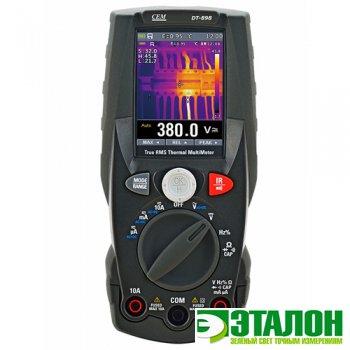 DT-898, мультиметр TRMS с встроенным тепловизором