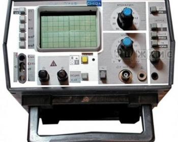 С1-112М Осциллограф-мультиметр