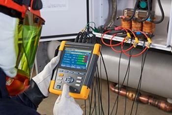 Fluke 438 II анализатор качества электроэнергии и работы электродвигателей
