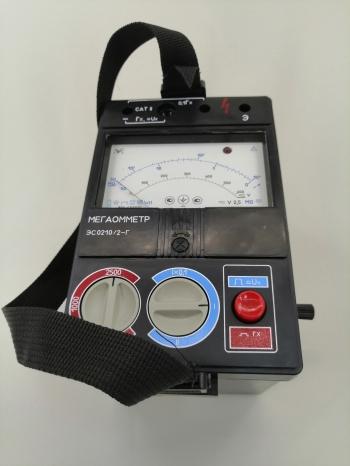 ЭС0210/3Г мегаомметр