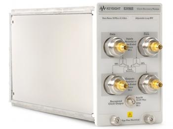 83496B Модуль восстановления оптического/электрического тактового сигнала с функцией анализа фазового шума