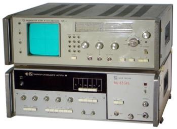 Р2-58 измеритель модуля коэффициентов передачи и отражения