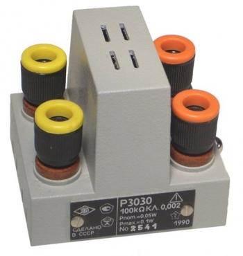 Р3030 Однозначная мера электрического сопротивления