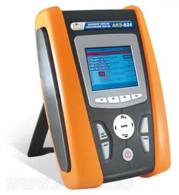 АКЭ-824 анализатор качества электрической энергии