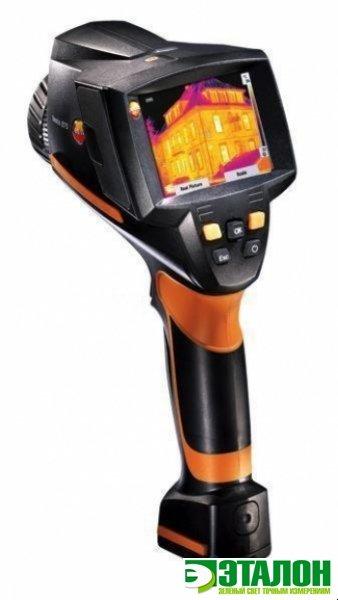 testo 880-3, тепловизор для экспертов, для полного анализа и документирования реальных изображений электрических систем