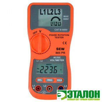 885 PR, индикатор порядка чередования фаз