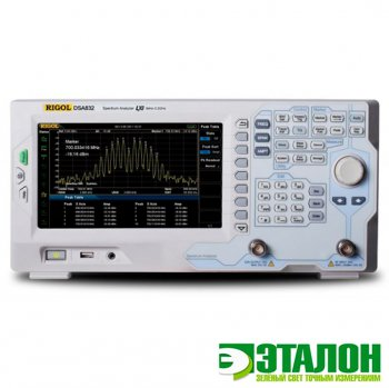 DSA832-TG, анализатор спектра с трекинг-генератором