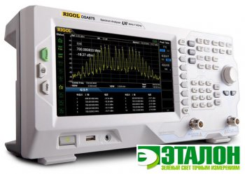 DSA875, анализатор спектра