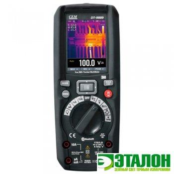 DT-9889, мультиметр TRMS с встроенным тепловизором
