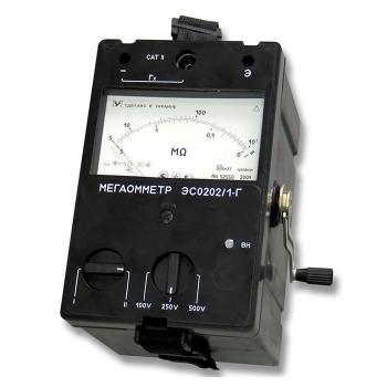 ЭС0202/1Г мегаомметр