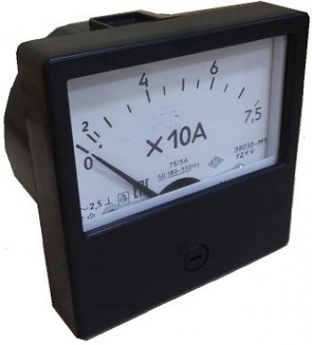 Э8031-М1 амперметр