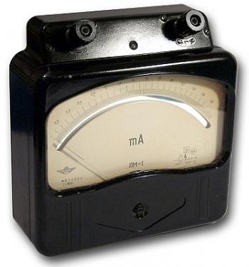 ЛМ-1 миллиамперметр