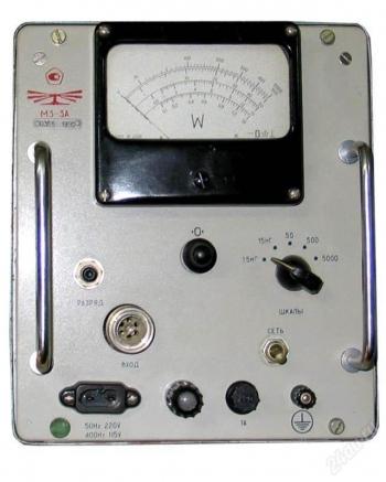 М3-3А ваттметр поглощаемой мощности