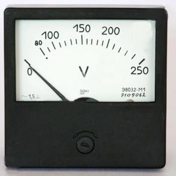 Э8032-М1 амперметр, вольтметр, миллиамперметр, килоамперметр