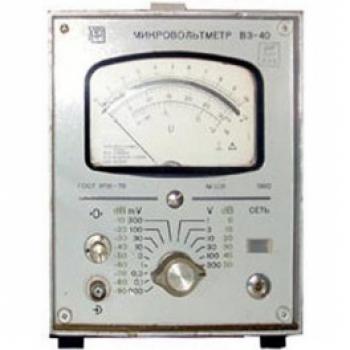 В3-40 Микровольтметр