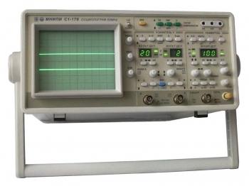 С1-176/1 Осциллограф аналоговый двухканальный