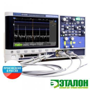 С7-322С, осциллограф смешанных сигналов двухканальный 200 МГц