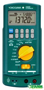 CA320, калибратор сигналов термопар