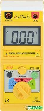2751 IN, цифровой измеритель сопротивления изоляции