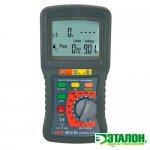 8012 EL, цифровой измеритель параметров устройств защитного отключения