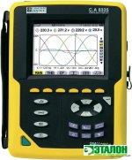 C.A 8335 QUALISTAR PLUS, анализатор параметров электросетей, качества и количества электроэнергии