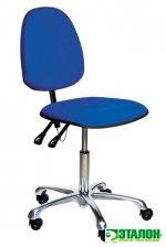 VKG C-100 ESD, антистатический тканевый лабораторный стул с регулировкой угла наклона спинки